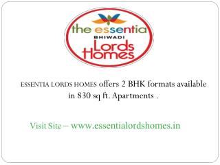 The Essentia Lords Homes – Alwar Bypass Road Bhiwadi