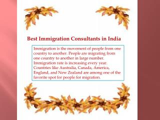 Best immigration experts in Delhi