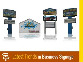 Latest Trends in Outdoor Signs in Kansas City