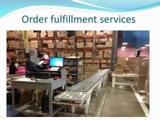 outsourced order fulfillment
