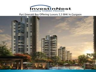 Top Class Residential Apartments AT Puri Emerald Bay