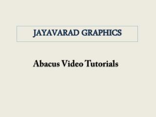 Abacus Video Tutorials