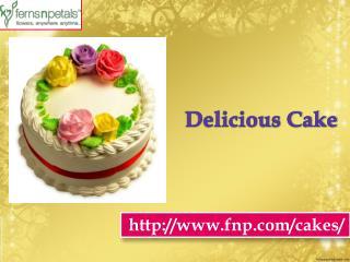Buy Online Delicious Cake