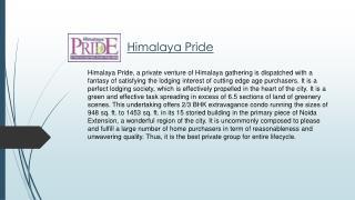 Himalaya pride