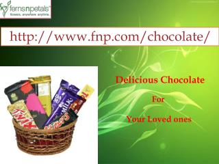 Buy Online Delicious Chocolate