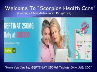 Buy Generic Branded Anti Cancer Drugs Online