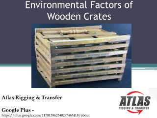 What are the Several ways that prove Wooden Crates to be Use