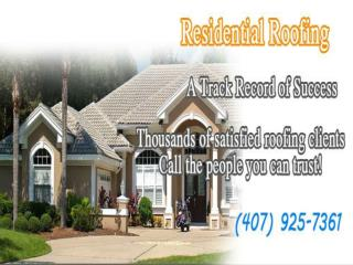 Orlando Roof Repair in Florida