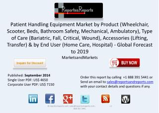 Global Patient Handling Equipment Market Shares &Strategies