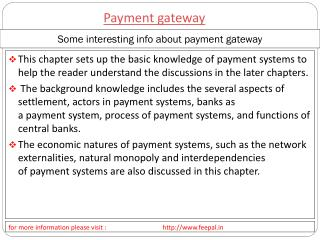 importance of payment systems