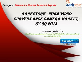Aarkstore - India Video Surveillance Camera Market