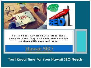 Kauai Web Design