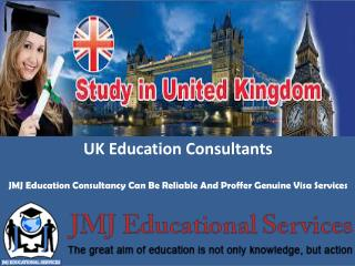 Jmj Education Consultancy Can Be Reliable And Proffer Genuin