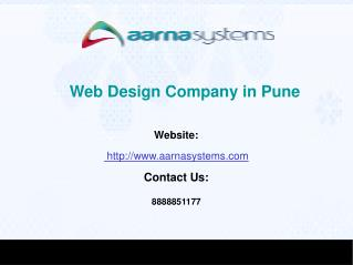 Web Design Company in Pune