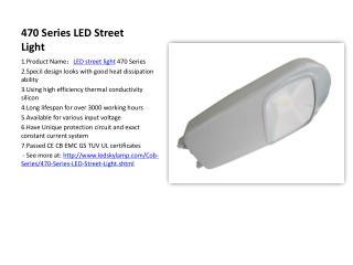 Leiqiong LED Street Light Cob Series Product
