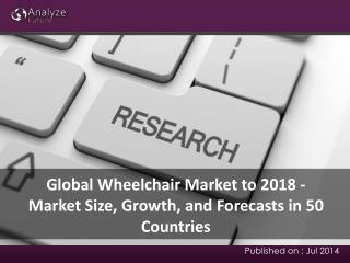Global Wheelchair Market to 2018