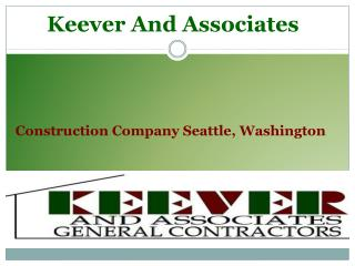 Keever And Associates - Presentation