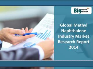 Global Methyl Naphthalene Industry Market Research Report: T