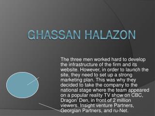 DEALFIND Ghassan Halazon CEO