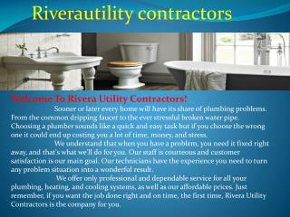 Utilities Contractor Albuquerque NM, Commercial Plumbing Alb