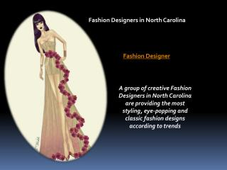 Fashion Designer | Dressmaking | Womenwear