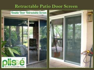 Retractable Patio Door Screen
