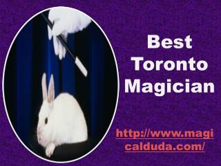 Best Toronto Magician