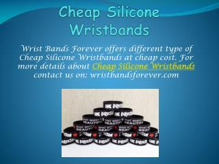 Find all types of wristbands in many colors and multiple opt