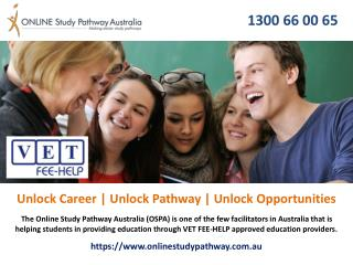 VET FEE-HELP Courses Online Australia | Study Now Pay Later