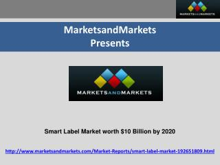 Smart Label Market
