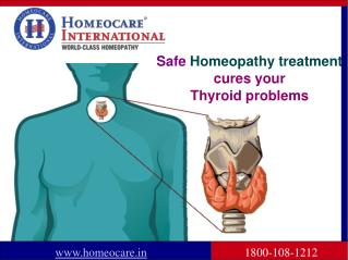 Thyroid Disorders Safely cured through Homeopathy Treatment