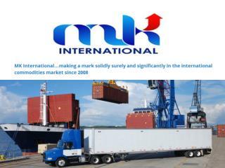 Mk international trading - international commodities market