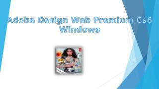 Adobe Design Web Premium Cs6 Dvd Windows