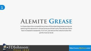 Alemite Grease Pump,