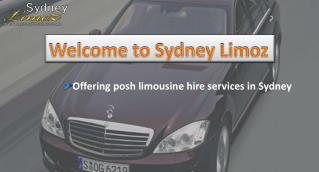 Luxurious Wedding Hire Cars in Sydney