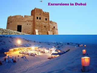 Excursions in Dubai
