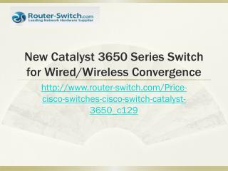 Wonderful Cisco Catalyst Layer 3 3650 Switch