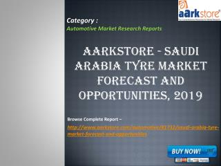 Aarkstore - Saudi Arabia Tyre Market