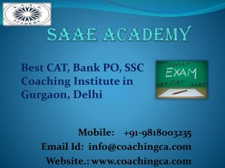 Best Bank Coaching in Gurgaon