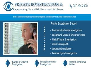 Private Investigation in Ireland