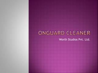 OnGuard Cleaner- RAM Booster | Junk File Cleaner