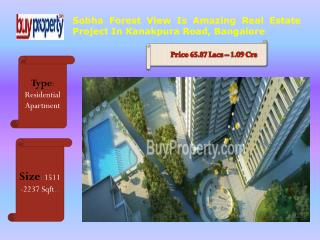 Best Sobha Forest View Residential Project In Bangalore