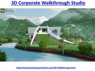 3D Corporate Walkthrough Studio