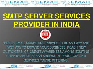 SMTP Server services provider in India