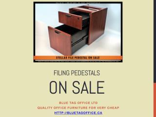 Filing Pedestals on SALE at Blue Tag Office Ltd