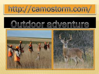 Camostorm - Outdoor adventure ideas