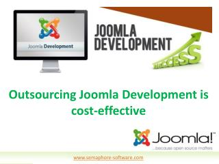Outsourcing Joomla Development is cost-effective