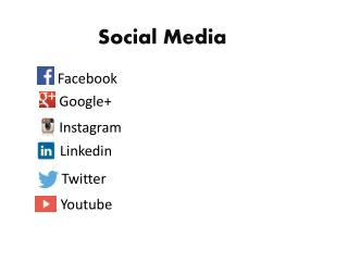 Social Media Applications