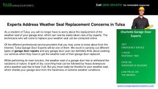 Best Garage Door Drum Replacement Services In Tulsa
