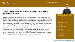 Wichita Gate And Gate Opener Repair Experts